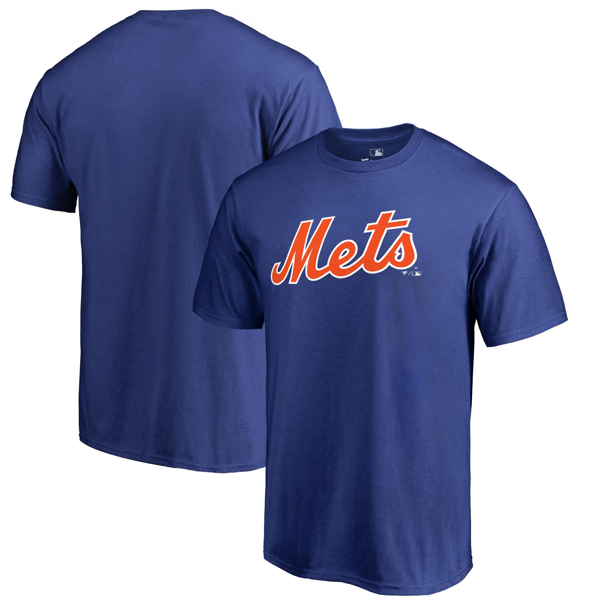 New York Mets Fanatics Branded Team Wordmark T-Shirt - Royal