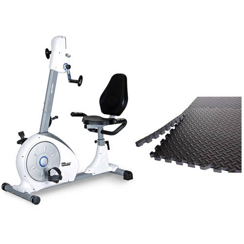 Velocity Exercise Dual Motion Recubent Bike with Bonus Puzzle Mat