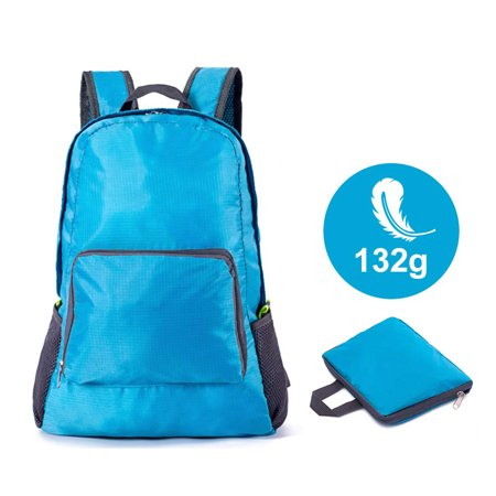 Amerteer Ultra Lightweight Packable Backpack Water Resistant Hiking Daypack,Small Backpack Handy Foldable Camping Outdoor Backpack Little Bag for Women and