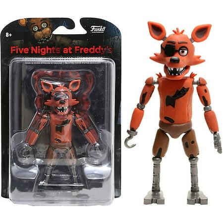 Funko Five Nights at Freddy's Build Spring Trap Foxy Action Figure (Glow In The Dark Nightmare Freddy Pop)