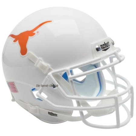 Schutt Authentic Texas Longhorns Chrome Decal XP Football Helmet