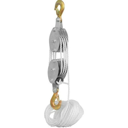Rope Pully Block and Tackle Hoist Block And Tackle Hoist