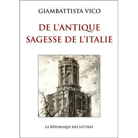L'Antique Sagesse de l'Italie - eBook