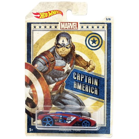 Hot Wheels Marvel Captain America Die-Cast Car [Rogue