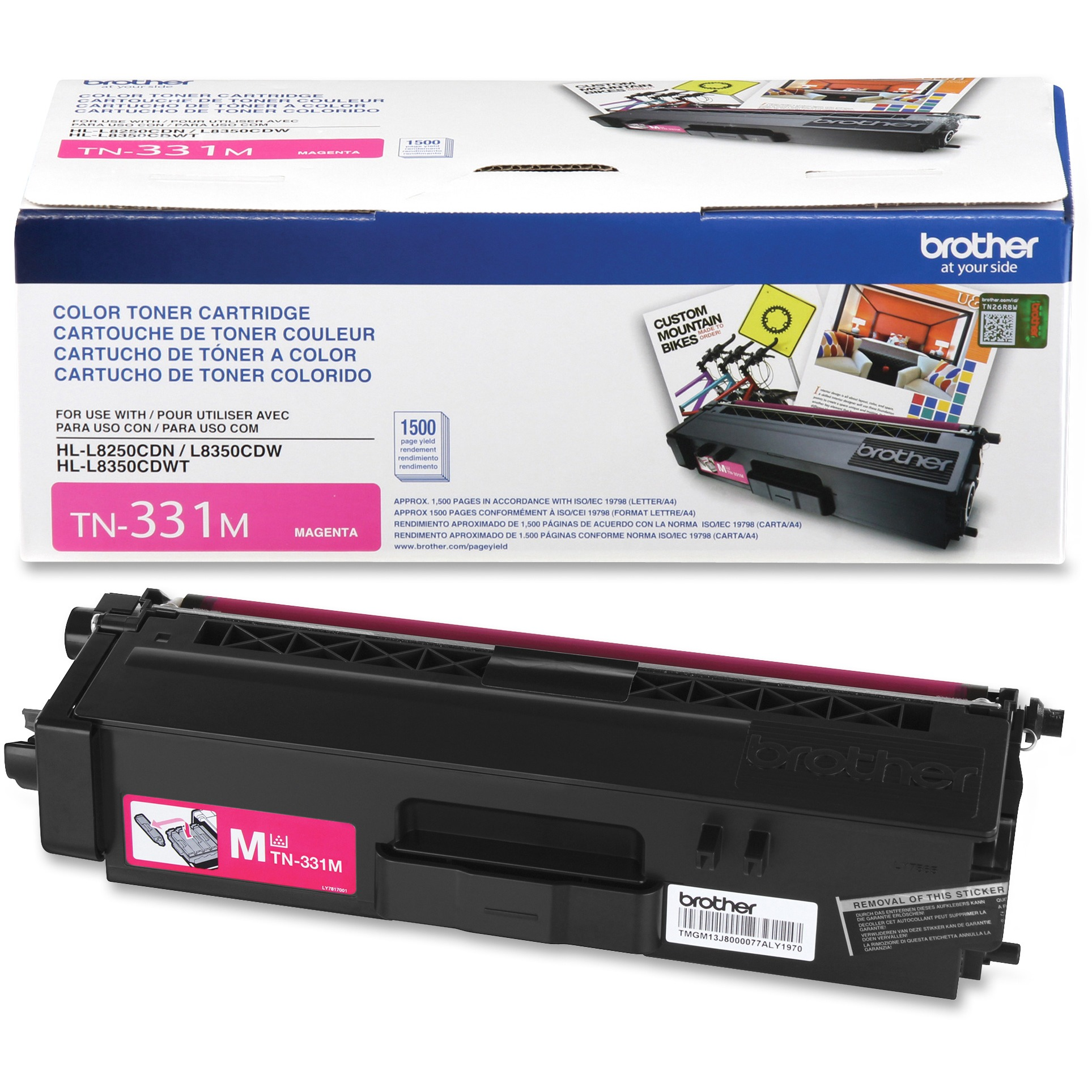Brother TN331M Magenta Toner Cartridge