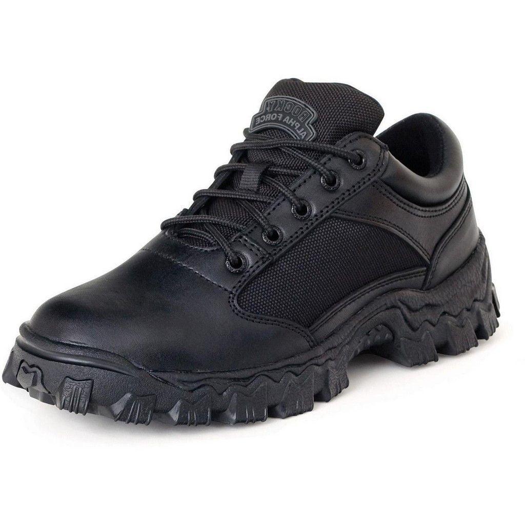 Rocky Work Shoes Mens Alphaforce Lightweight Oxford Black FQ0002168 - Walmart.com