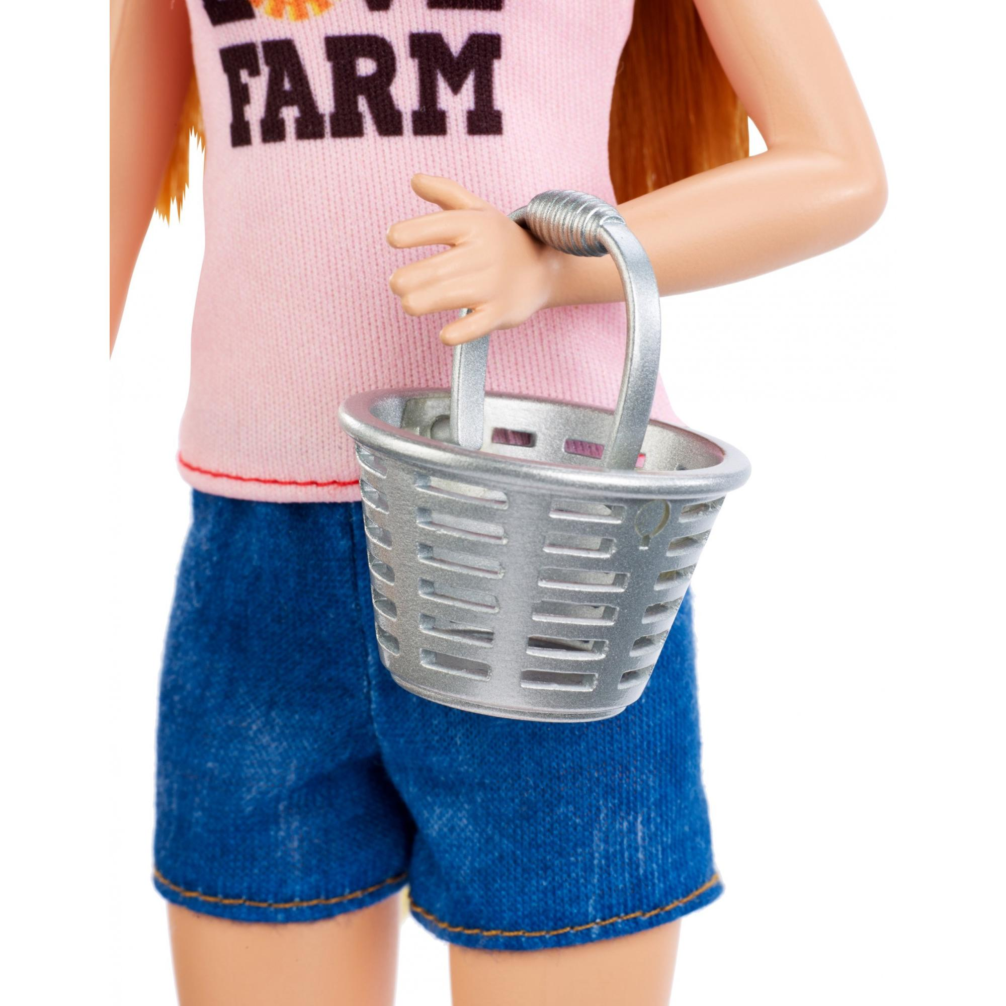 315fe2a5 Barbie Careers Chicken Farmer Doll & Chicken Coop Playset - Walmart.com