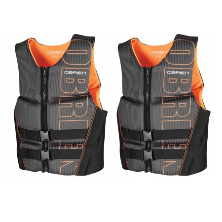 OBrien BioLite Series Men's Flex V Back Neoprene Life Vest Size XL (2 Pack) - image 3 of 3