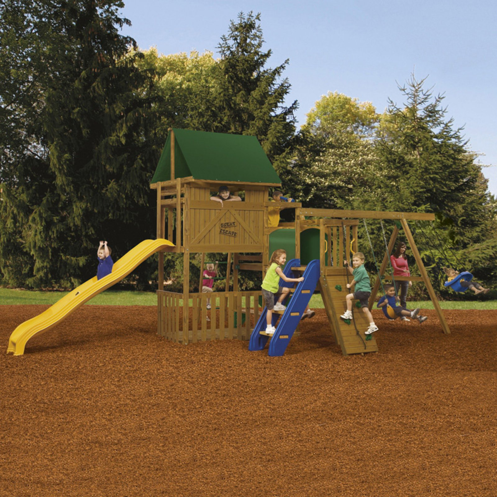 PlayStar Great Escape Ready-to-Assemble Bronze Play Set