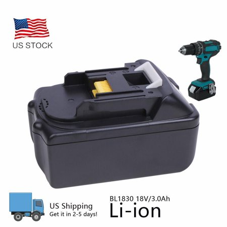 3.0Ah Li-ion Battery 18V 3000mAH for Makita BL1815 BL1830 BL1835 BL1840