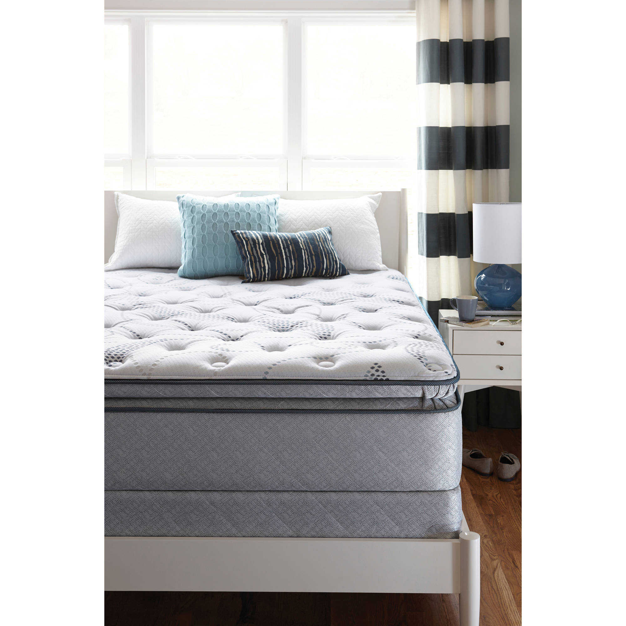 reviews size sealy euro charter pillowtop queen house a set pillow edgemont cliffport cushion mattress plus top plush