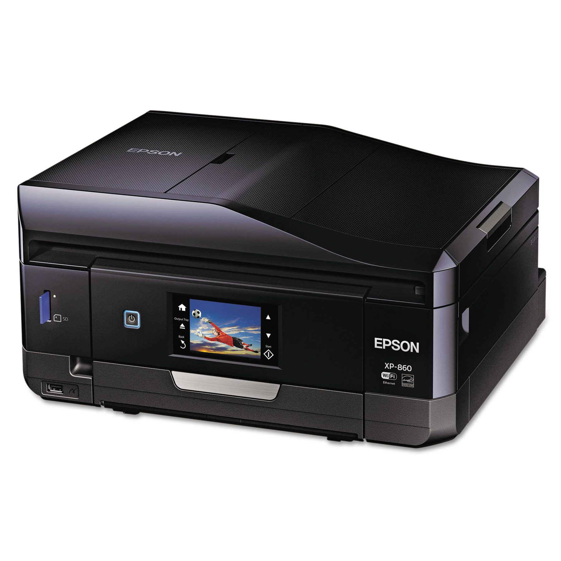 Epson Expression Premium XP-860 Wireless Small-in-One Inkjet Printer, Copy/Print/Scan