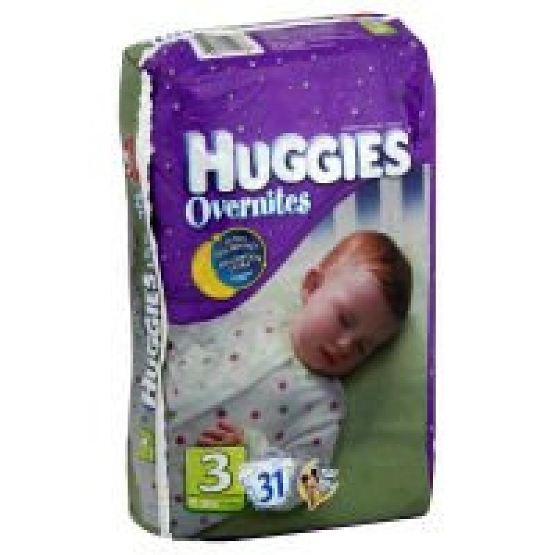 Huggies OverNites Diapers Disney 3 16-28 LB, 31.0 CT by HUGGIES