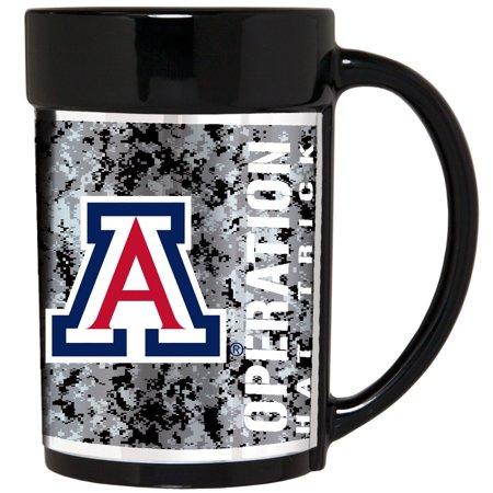 Arizona Wildcats Operation Hat Trick 15oz. Ceramic Mug - Black - No Size (Wildcats Ceramic)