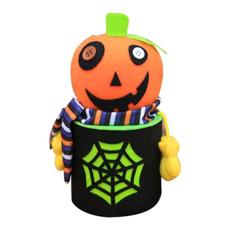 Halloween Cobweb Candy Snack Bags Cookie Food storage Boxes Zombie Ghost Pumpkin Black Cat Style Party Unique Gift Boxes