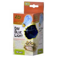 Zilla-Day Blue Light Incandescent Bulb 50 Watt