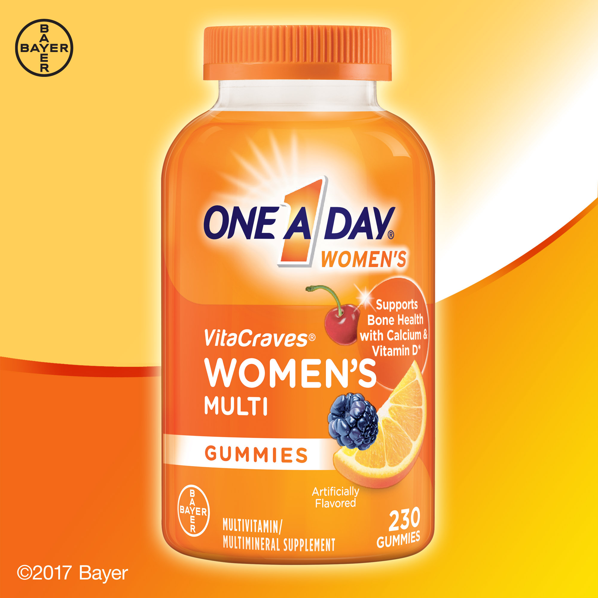 One A Day VitaCraves Women's Multi 230 Gummies
