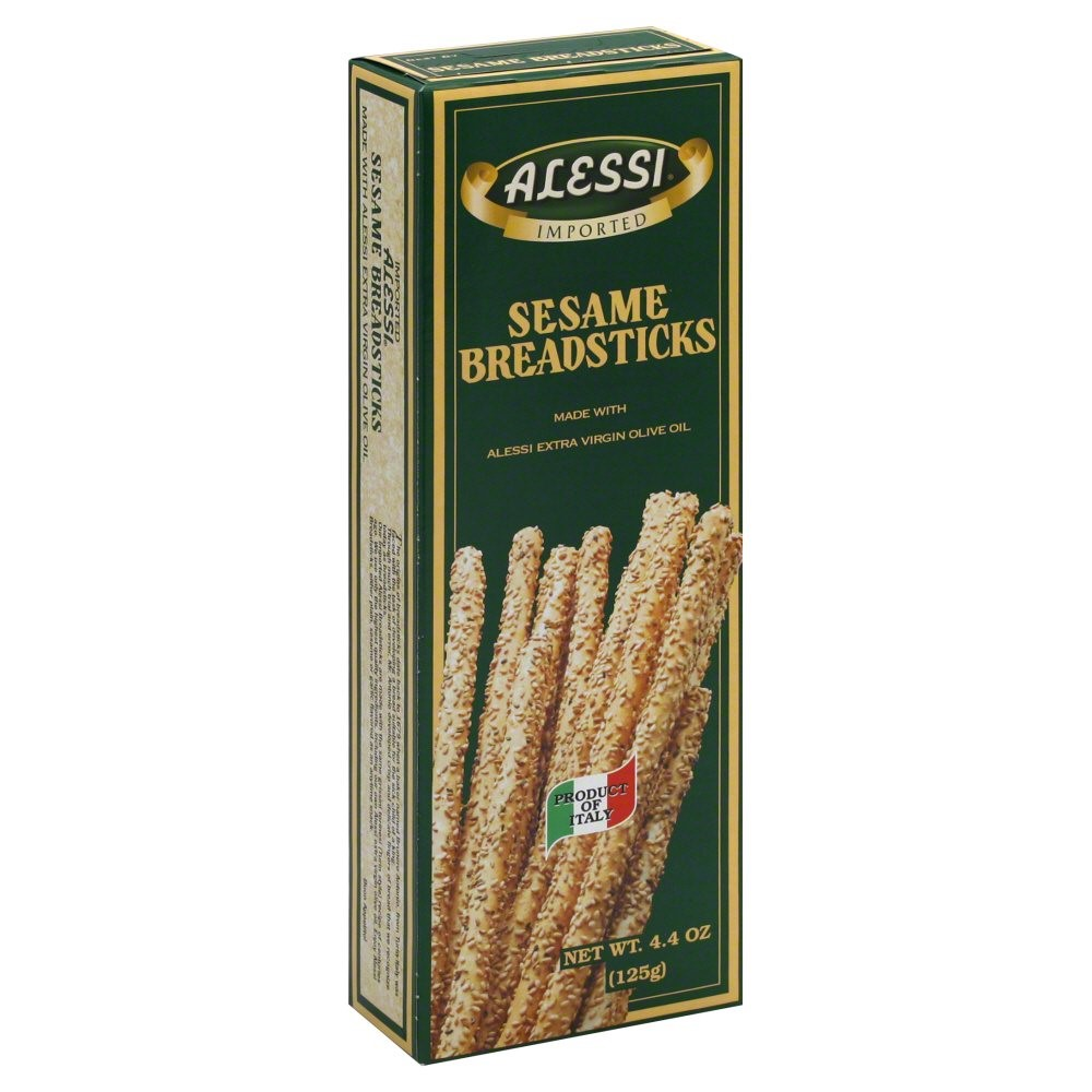 Alessi Sesame Breadsticks, 4.4 oz