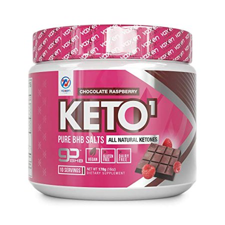 Exogenous Ketones Supplement with Beta Hydroxybutyrate BHB Salts for Ketogenic Diet – Keto Shake Powder Drink to Help Reach Ketosis, Reduce Stress, and Boost Energy (Chocolate Raspberry, 10
