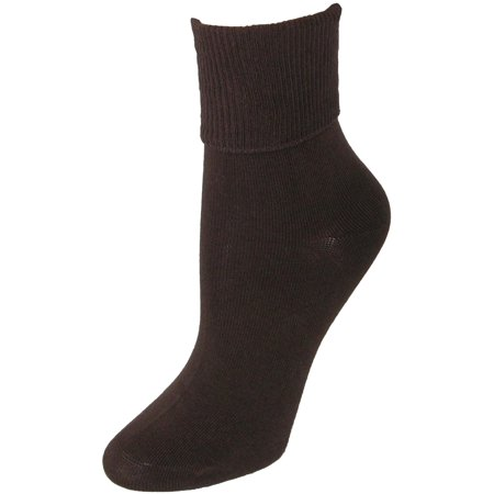 Jefferies Socks  Organic Cotton Turn Cuff Socks (Women's) ()