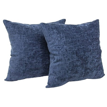 Throw Pillows Set Of 4 : Mainstays Chenille Throw Pillow, Set of 2 - Walmart.com