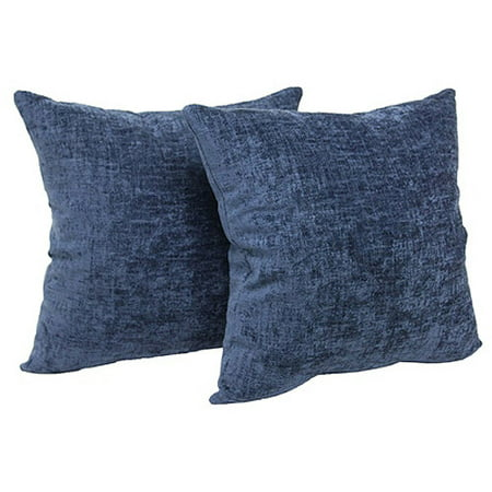 Mainstays Chenille Throw Pillow, Set of 2 - Walmart.com