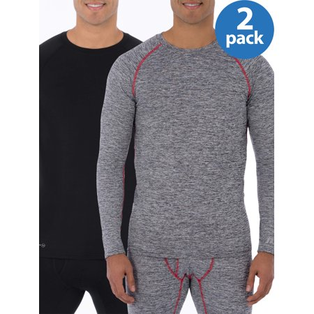 Buy 2 Russell Mens L2 Active Base Layer Thermal Crew Shirts, and Save! (Base Layer Spyder)
