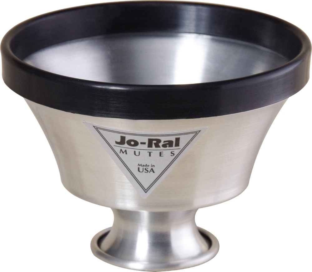Jo-Ral TPT-6 Aluminum Trumpet Plunger Mute by Jo-Ral