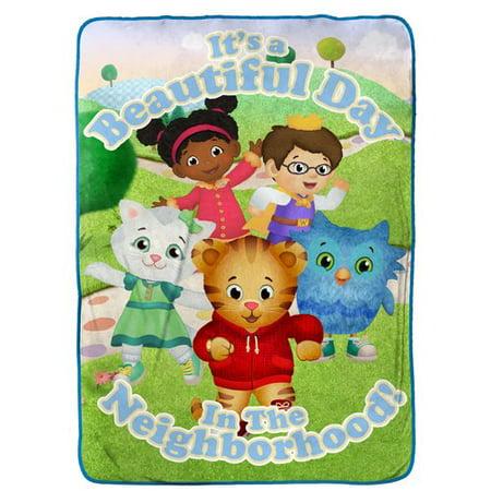 Daniel Tiger Treehouse Pals Twin Blanket by PBS Kids