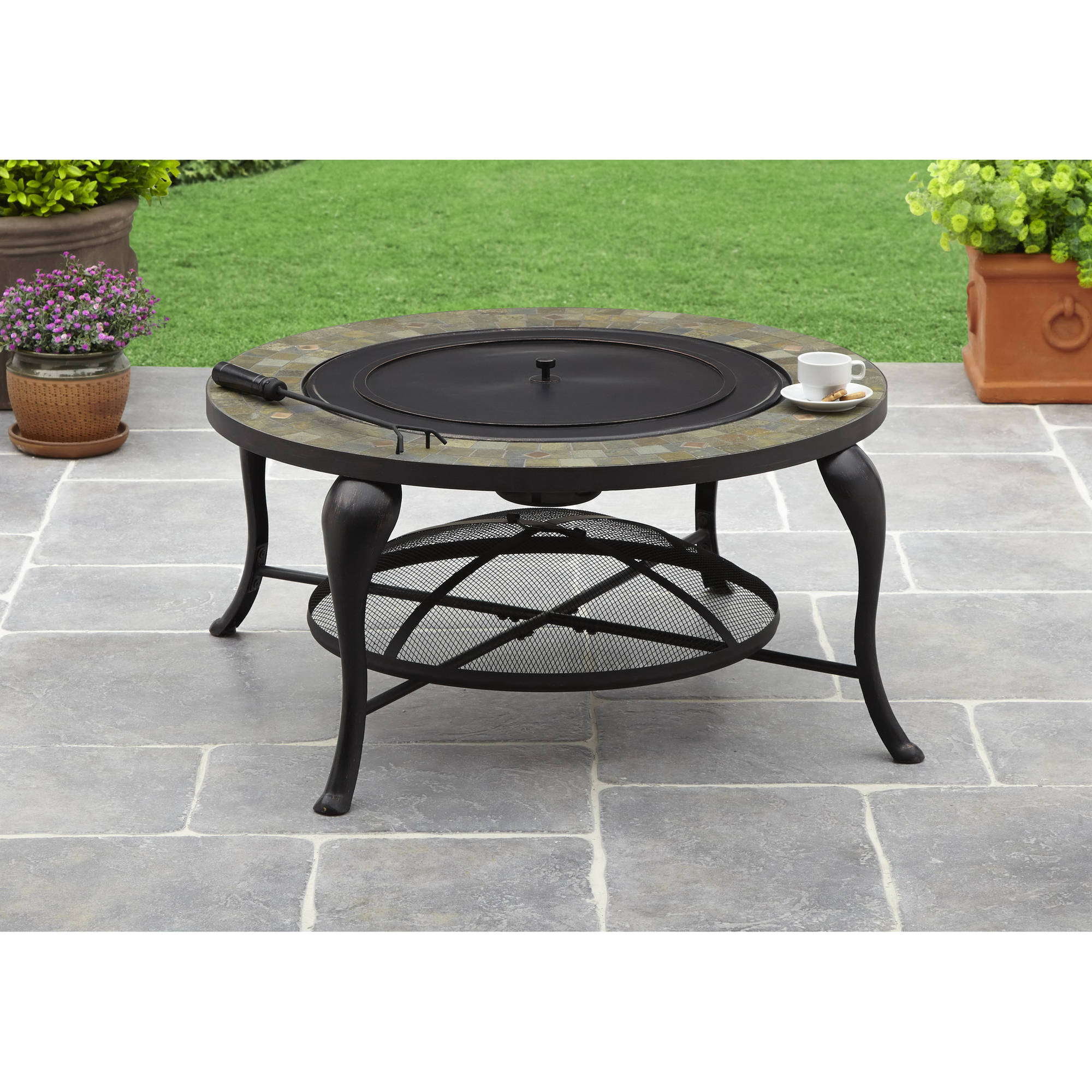 Better Homes and Gardens 35 Slate Fire Pit Walmartcom