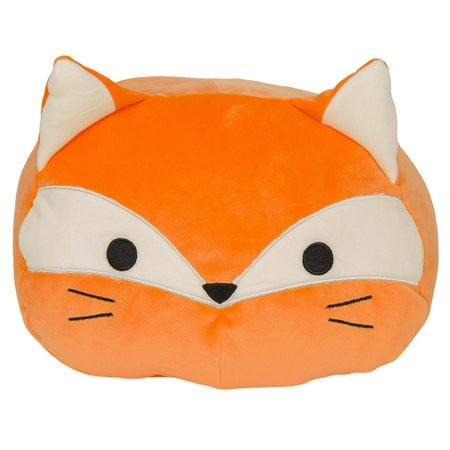 Home Textile Nordic Super Soft Plush Fox Orange Pillow Gift For Children Room Decoration Cushion