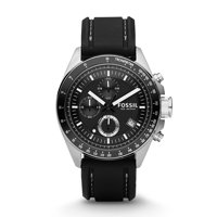 Fossil Men's Decker Chronograph Silicone Dive Watch CH2573IE