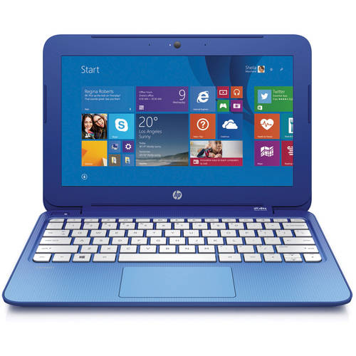"Refurbished HP 11-D010WM 11.6"" Laptop Intel Celeron N2840 2GB Memory 32GB eMMC Drive Win 8"