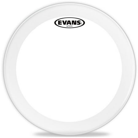 Evans EQ3 Clear Bass Drum Head, 18 Inch