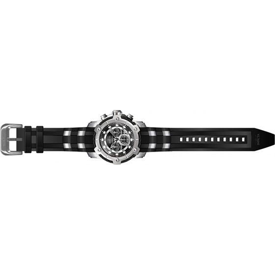 554bb71df Men's 26764 Bolt Quartz Chronograph Black Dial Watch - Walmart.com