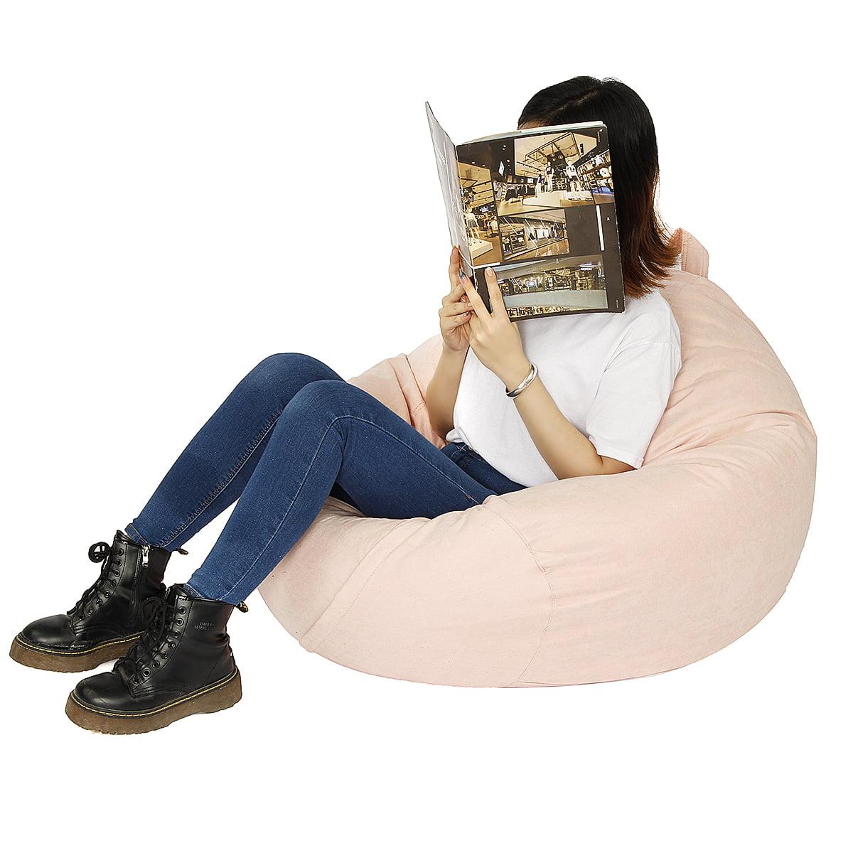 Stuffed Storage Bird's Nest Bean Bag Chair (No Filler) for ...