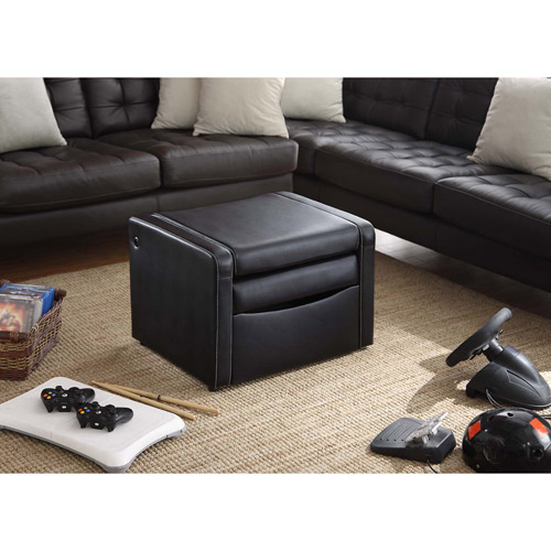 Video Rocker   Storage Gaming Ottoman, Multiple Colors   Walmart.com