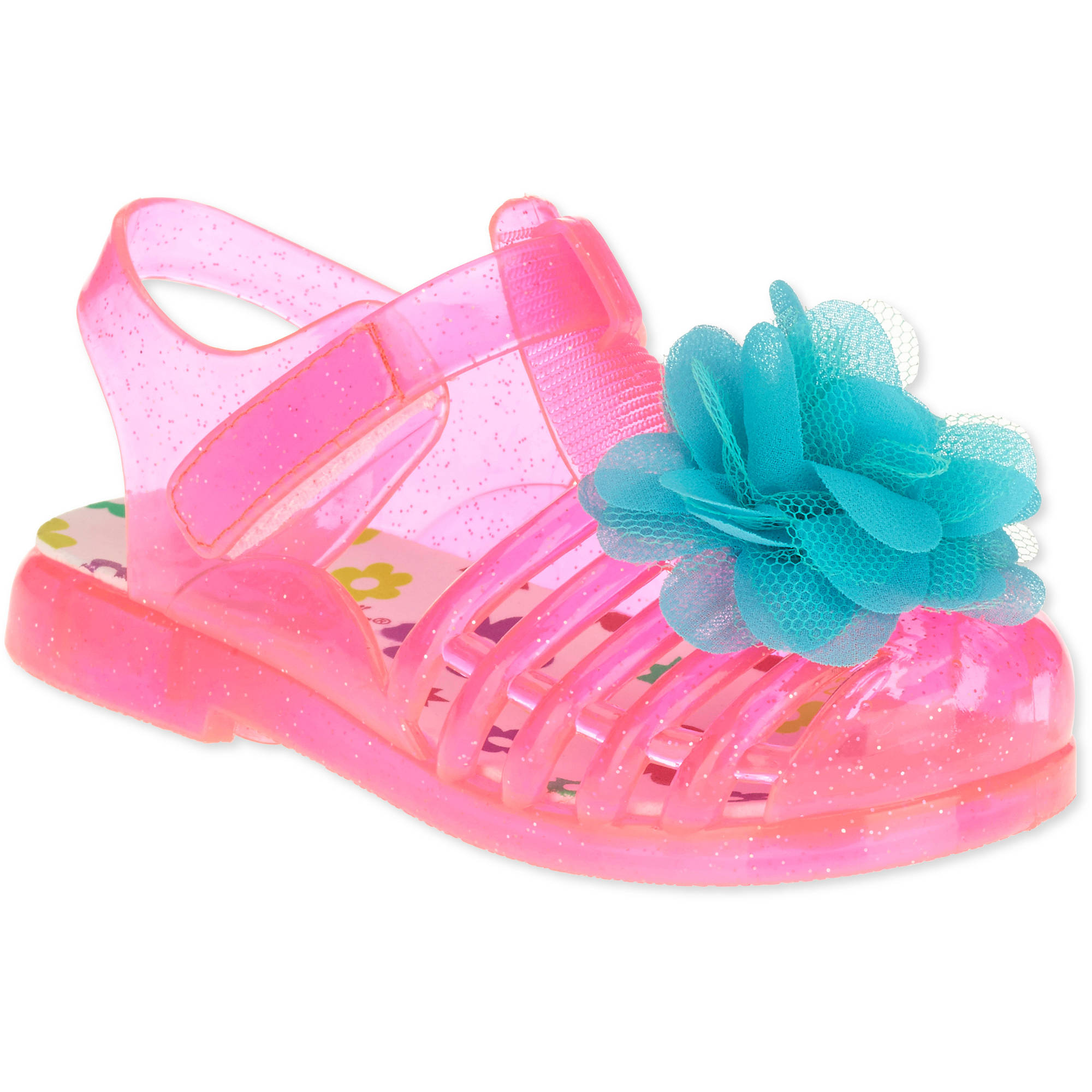 Garanimals Toddler Girls' Fish Jelly Sandal