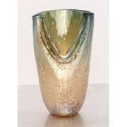 Decmode Glass Vase, Multi Color
