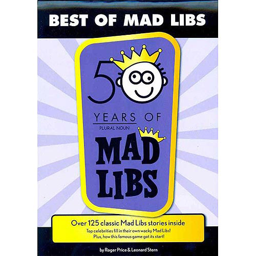 Best of Mad Libs: 50 Years of Mad Libs