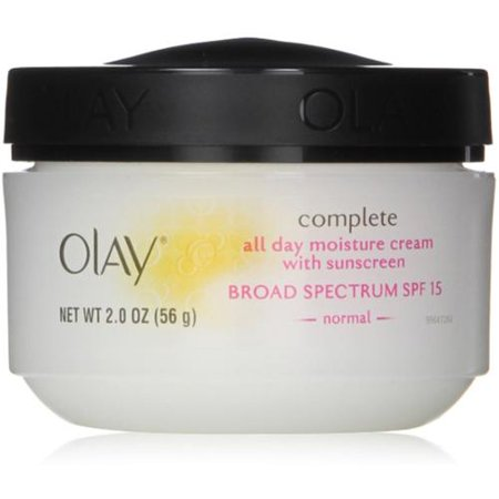 Olay Complete All Day UV Crème hydratante SPF 15, Normal 2 oz (Pack de 3)