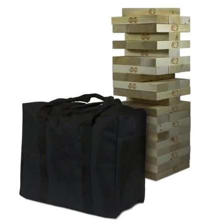 Mississippi State Bulldogs Giant Wooden Tumble Tower Game - No Size](Georgia Bulldog Game)