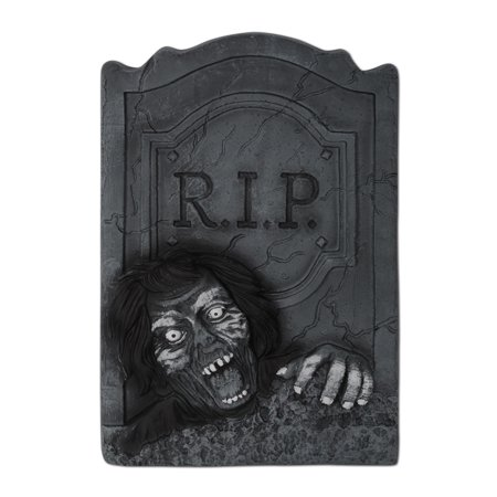 Pack of 6 Haunted Halloween 3-D Zombie