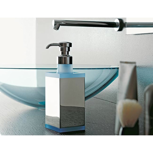 Toscanaluce by Nameeks Free Standing Rectangular Liquid Soap Dispenser
