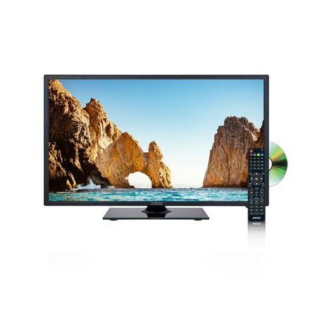 19-in. Led Hdtv Dvd Combo, Features 1xhdmi & Headphone Inputs, Dvd - Hd Combo Display