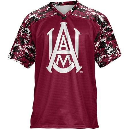 A&m Football Jersey - ProSphere Men's Alabama A&M University Digital Football Fan Jersey