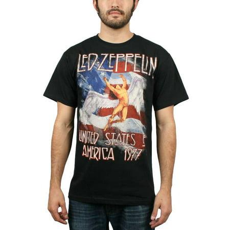 Led Zeppelin Men's America 1977 US Tour