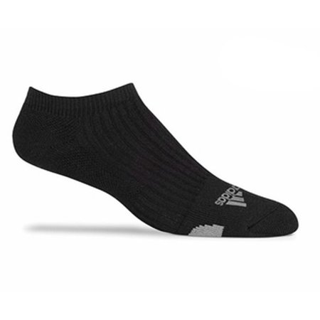 NEW Adidas Everyday Comfort Low Cut Golf Socks Black Mens Size 7-10.5