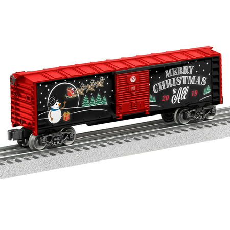 Lionel 2019 Christmas O Gauge Model Train Boxcar