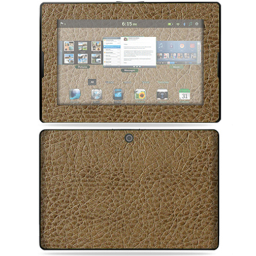 "Mightyskins Protective Vinyl Skin Decal Cover for Blackberry Playbook Tablet 7"" LCD WiFi wrap sticker skins - Sandalwood"